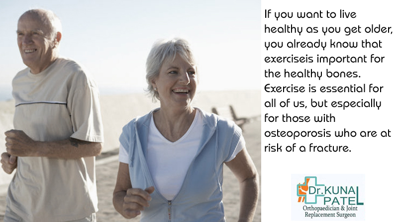 Why exercise essential for good bones