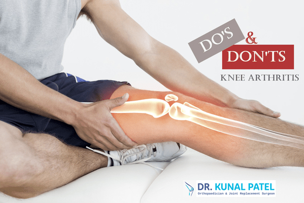 Do's and Don'ts for Knee Arthritis