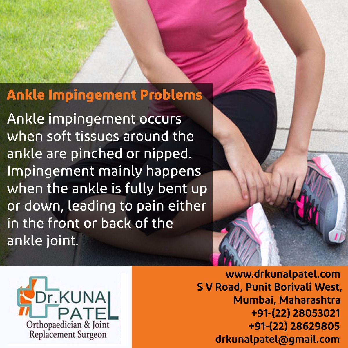 Ankle Impingement Treatment Mumbai