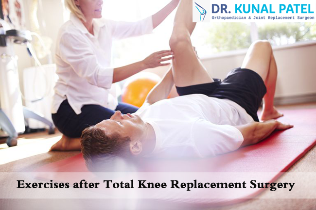 Exercises after Total Knee Replacement Surgery